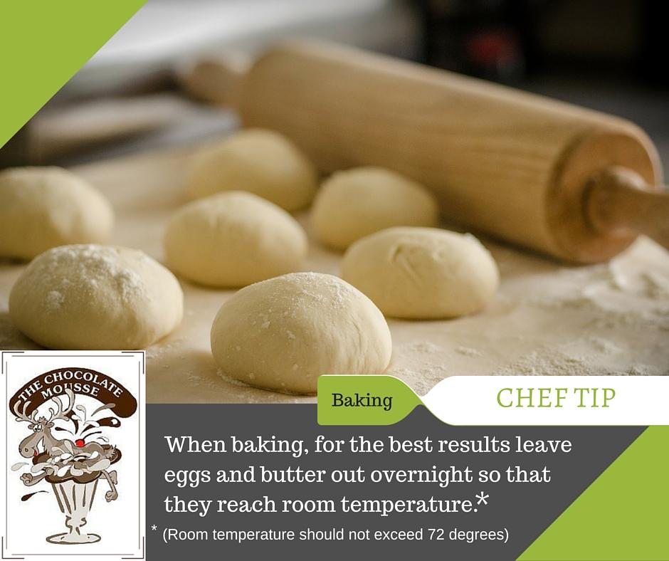Chef tip-baking