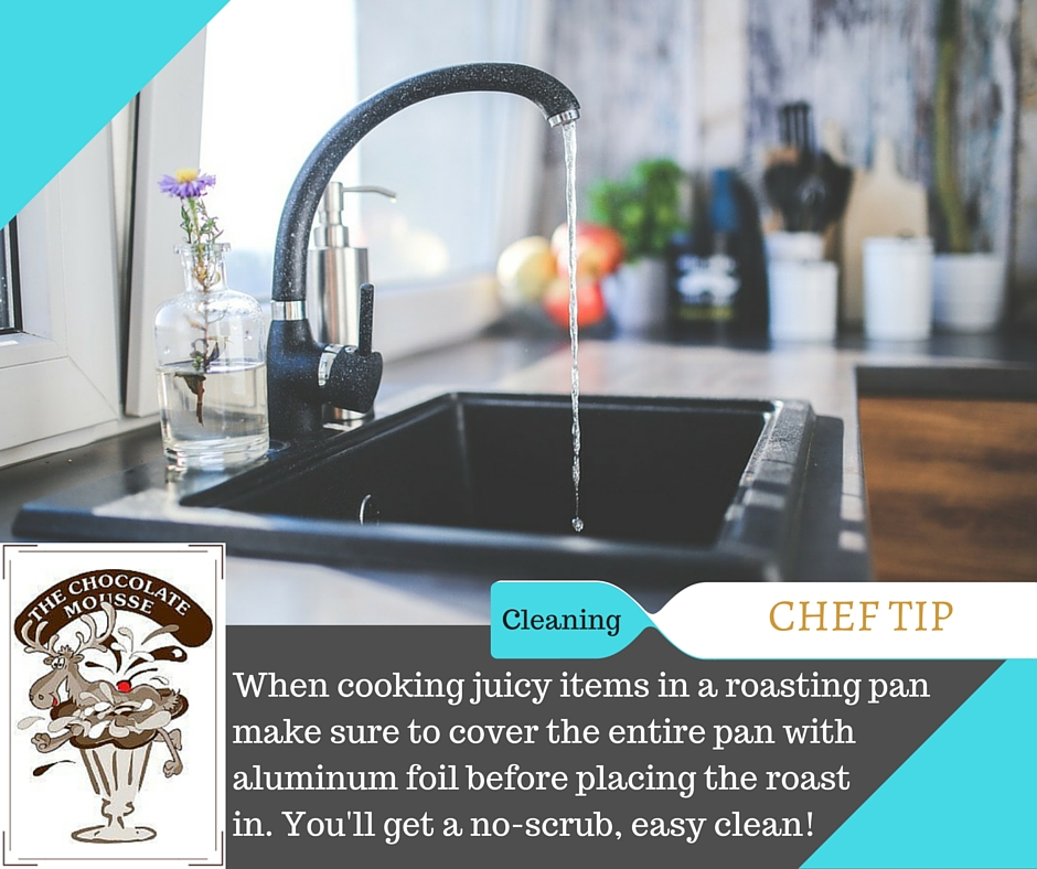 Chef tip cleaning